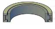 Capped Piston T-Seals