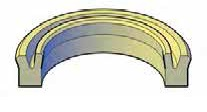 Heavy Duty Piston U-Seals