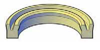 Heavy Duty Rod U-Seals