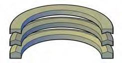 Individual Vee Rings & Adaptors