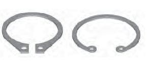 Internal and External Retainer RIngs