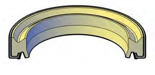 Metal Clad Wiper Rings