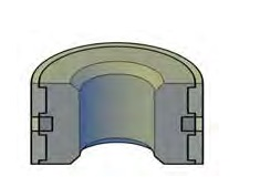 John Deere® / New Holland Unitized Pistons