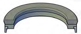 Piston U-Seals