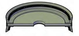 Hydraulic DA Piston Seal