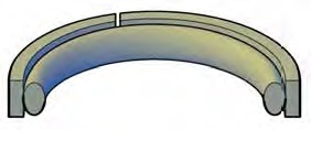 Step Cut Piston Seals