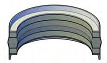 Three Piece Piston Seals