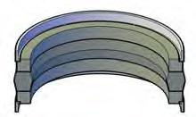Three Piece Piston Seals