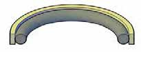 Two Piece Piston Seals