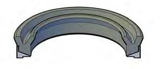 U-Type Two Piece Piston Seals