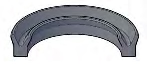 Urethane Rod U-Seals
